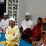 Di antara para jemaah yang hadir dalam majlis tersebut.
