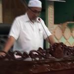 Tuan Hj. Salleh Bin Hj. Abdul Karim (Pengerusi Biro Pendidikan Dan Dakwah MSYRS, Ipoh) sedang menyampaikan taklimat mengenai perjalanan Kursus.