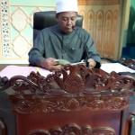 Tuan Hj. Mohd Ali (Penceramah Kursus) sedang menyampaikan kuliah.