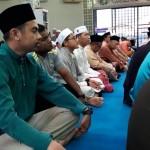 Di antara para jemaah yang hadir