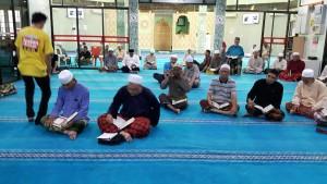 Sebahagian drpd jemaah yg sedang mengikuti ceramah AF Ustaz Mazlan Al Hafiz.